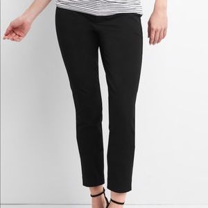 Gap Maternity Inset Panel Skinny Ankle Pants